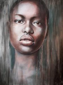 Portrait of a Ajak Deng