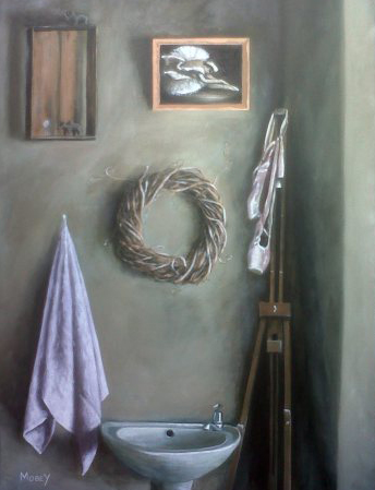 Still life of the courner of my studio in Knysna