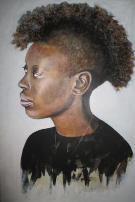 Portrait of my friend from Joburg