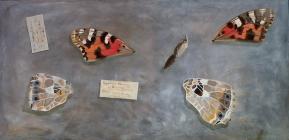 Discarded Specimen - Oil on Board 120cm x 60cm